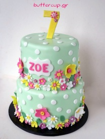 girly-spring-flowers-cake