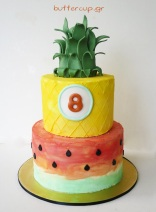 watermelon-pineappple-cake