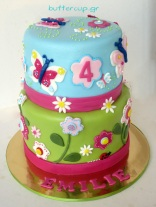 butterfly-and-flowers-cake