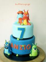 slugterra-cake